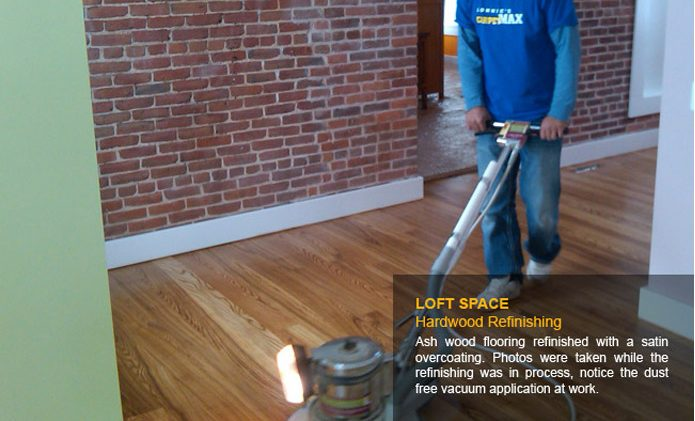 Loft Space Hardwood Refinishing - After
